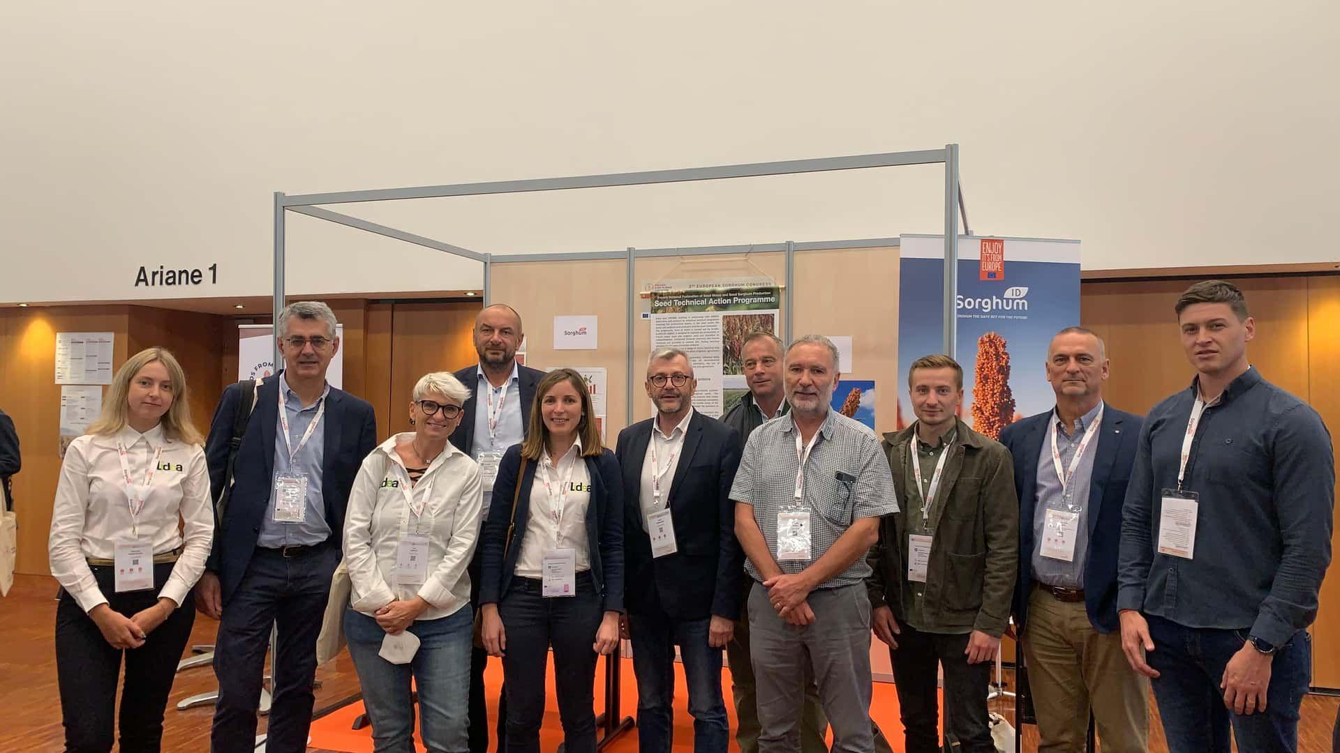 Lidea at the heart of  the 3rd European Congress of Sorghum